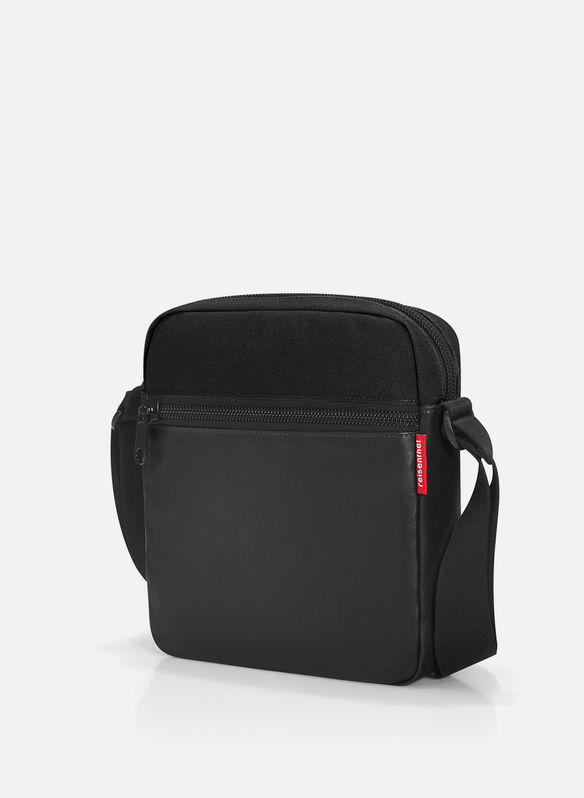 TRACOLLA CROSSBAG CANVAS, BLK, medium