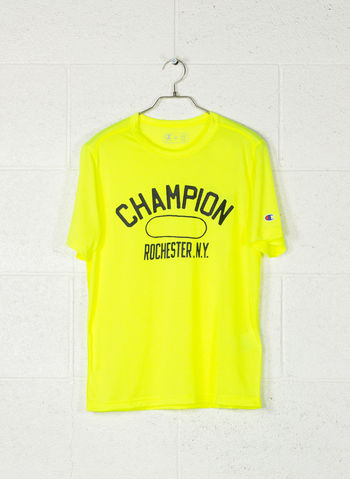 T-SHIRT TRAINING MICRO MESH STAMPA, YF002LIME, small
