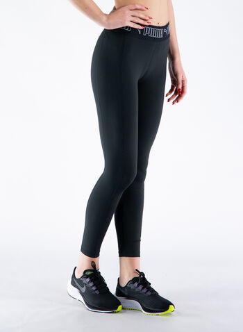 LEGGINGS 7/8 FASCIA LOGO, 01BLK, small