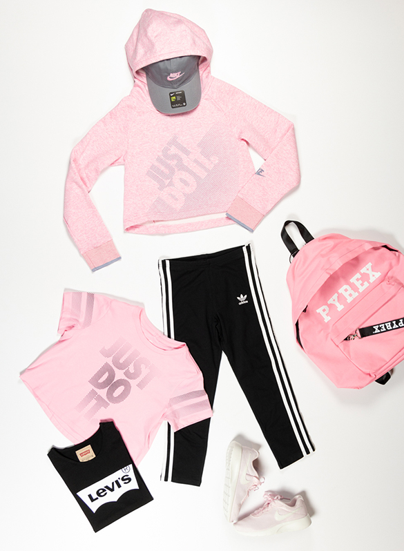 FELPA CROP JUST DO IT RAGAZZA, 654PINK, small