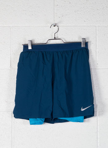 SHORT NIKE DISTANCE 2-IN-1, 474BLUE, small