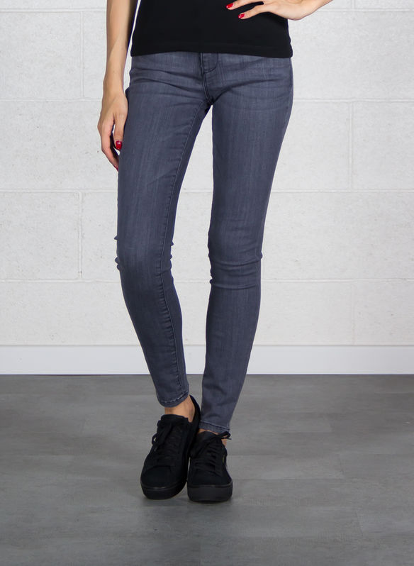 JEANS ANNETTE VITA ALTA, LLGY GREY, medium