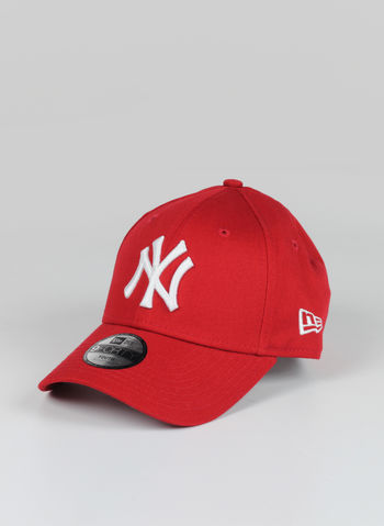 CAPPELLO NNY LEAGUE BASIC RAGAZZO, RED, small