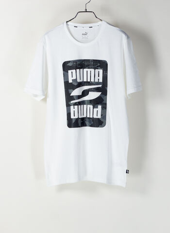 T-SHIRT REBEL GRAPHIC CAMO, 02WHT, small