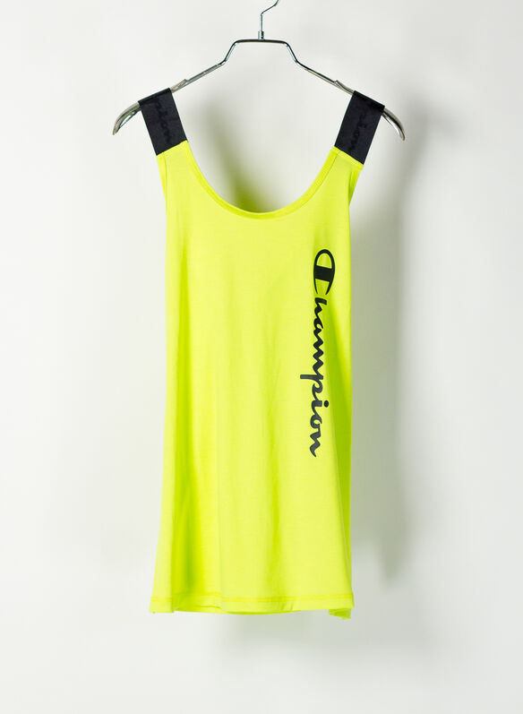 CANOTTA ACTIVE LOGO, YS061LIME, medium