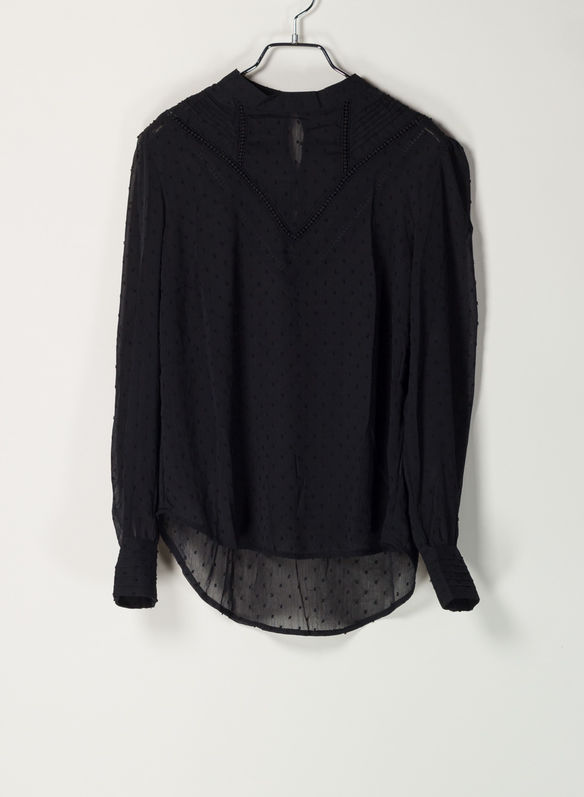 CAMICIA PLUMETIS, BLK, medium