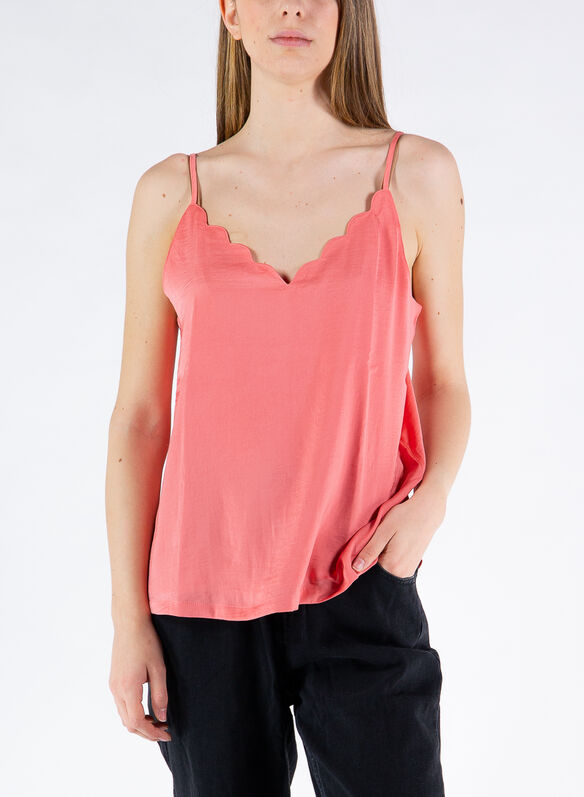 TOP LOOSE CAMI, TEA ROSE, medium