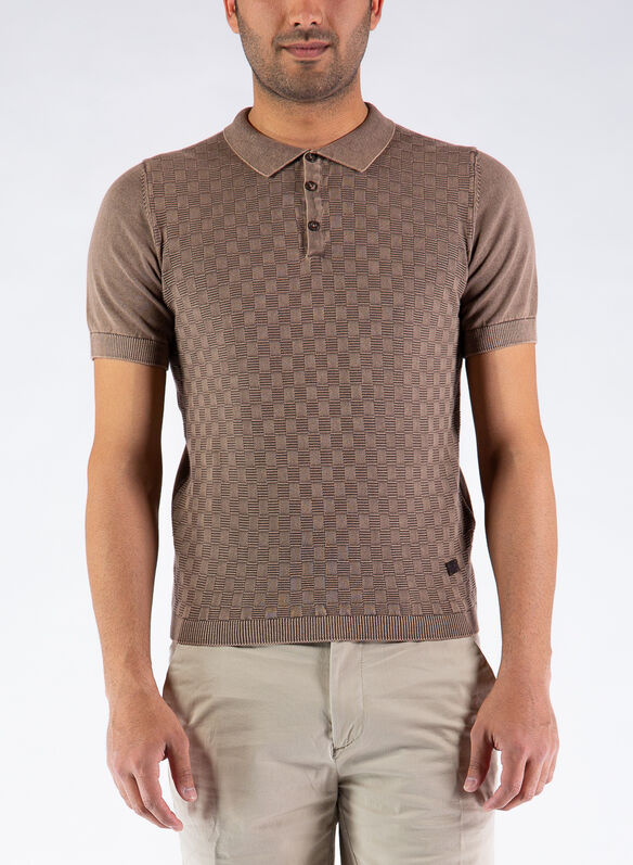 POLO FILO STONE, 209BROWN, medium
