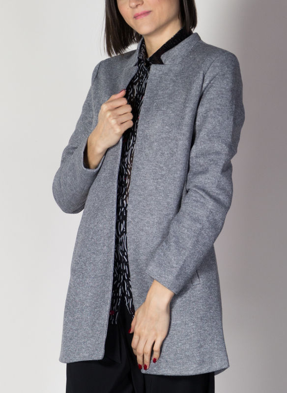 CAPPOTTO SOLID, LGM GREY, medium