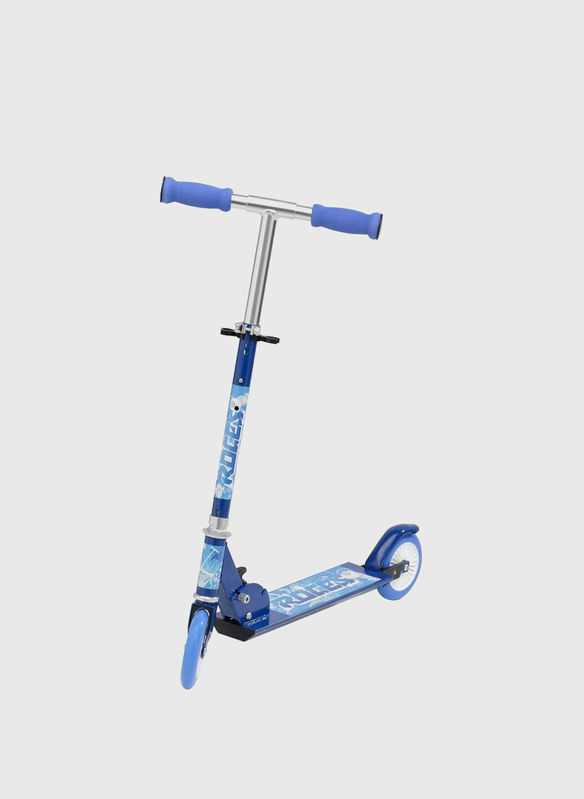 MONOPATTINO SCOOTER RACES ALU SP 125 MM, BLUE, medium