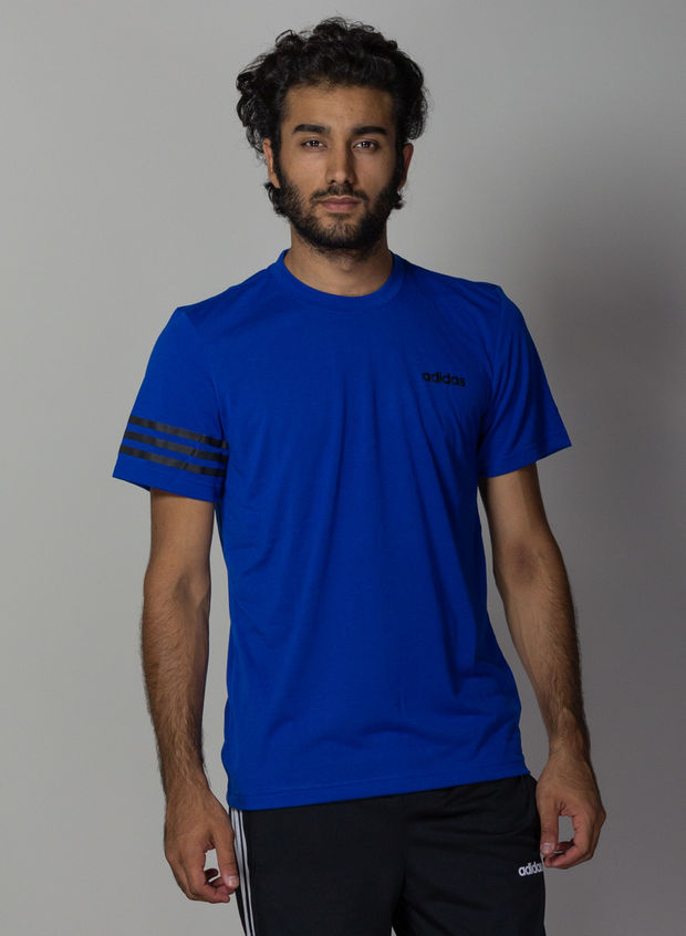 T-SHIRT TRAINING CORE, ROYAL, large
