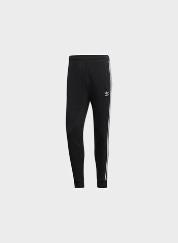 PANTALONE 3-STRIPES, BLK, small