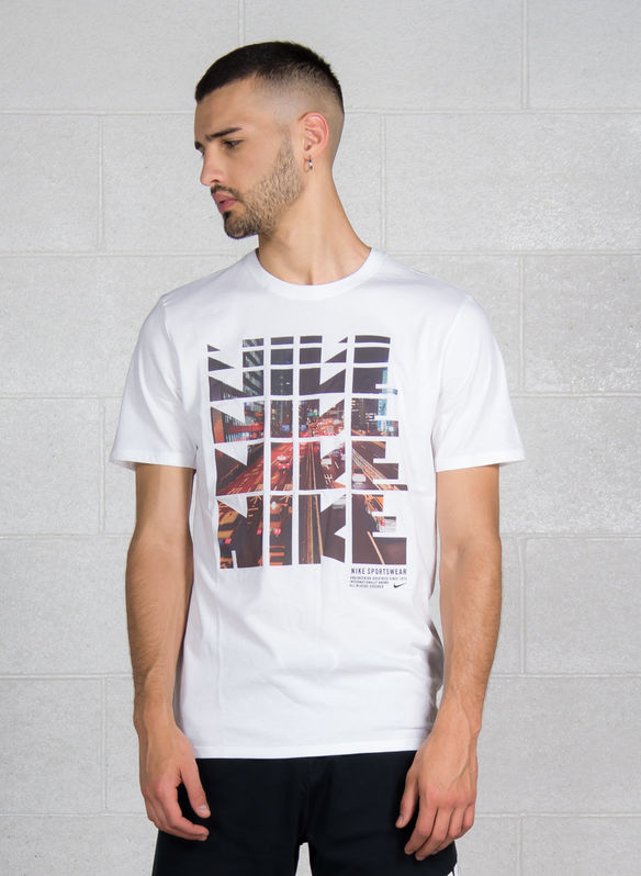 T-SHIRT GRAPHIC, 100WHT, medium
