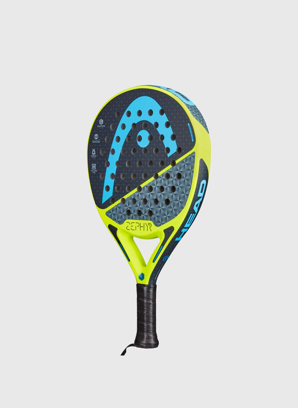 RACCHETTA DA PADEL GRAPHENE TOUCH ZEPHYR PRO, LIME, medium