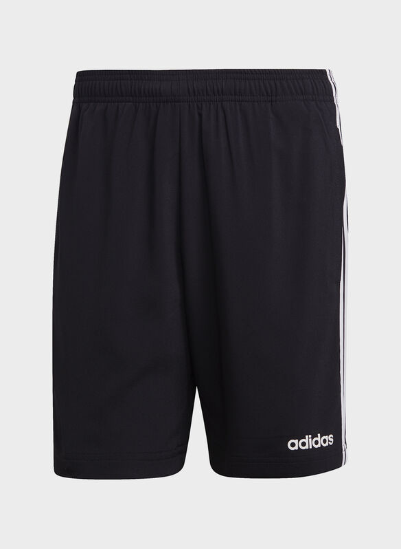 SHORTS 3-STRIPES, BLK, medium