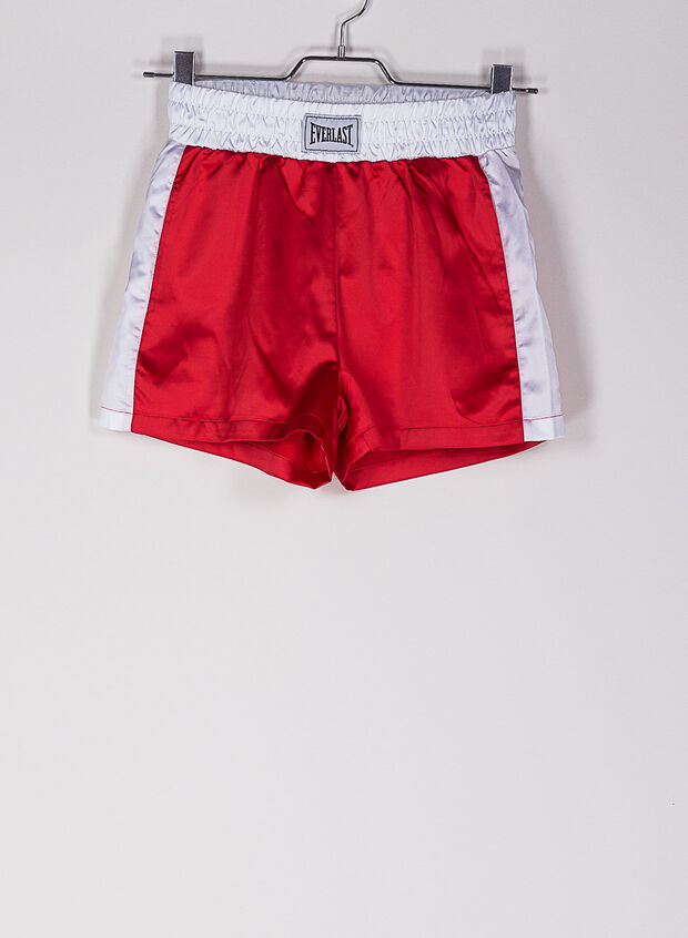 SHORT BANDA A CONTRASTO, 5410RED, large