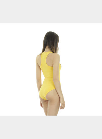 BODY JERSEY STRETCH BIG LOGO, GIALLO, small