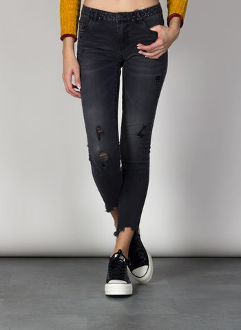 JEANS MAZE REGULAR, GREY DENIM, small