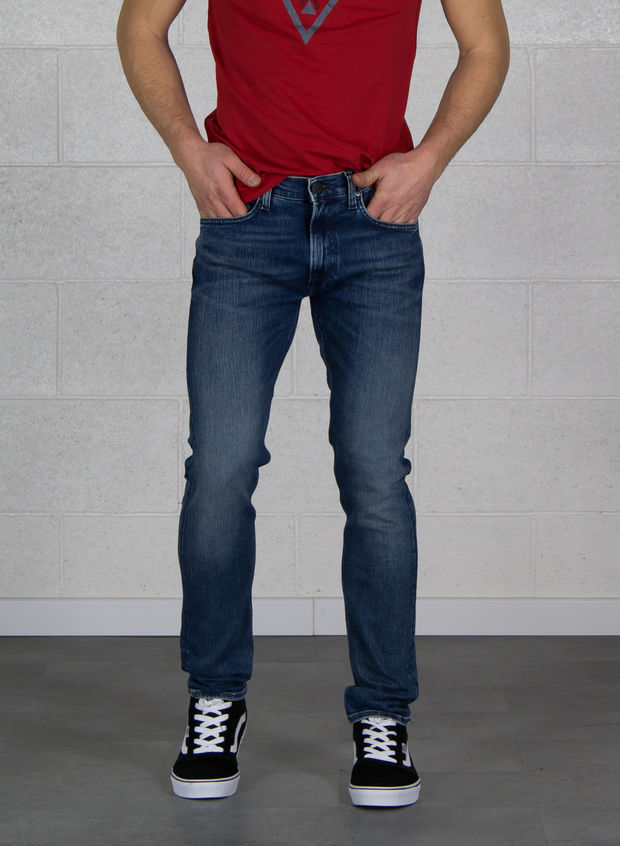 JEANS LUKE SKINNY SCURO, KIZF BLUEFUL, large