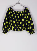 BLUSA CROP TOP POIS, P96Q BLKYELLOW, thumb