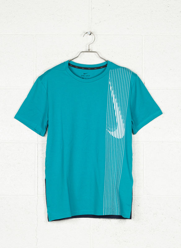 T-SHIRT DRI-FIT, 366SMERALDO, medium