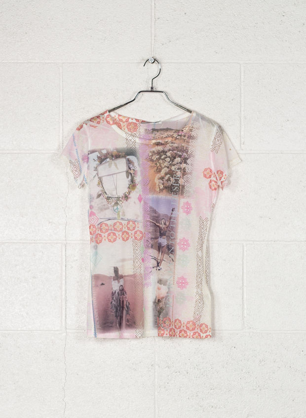 T-SHIRT STAMPA, 2406ROSA ANTICO, large