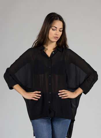 BLUSA NOISY, NERO, small