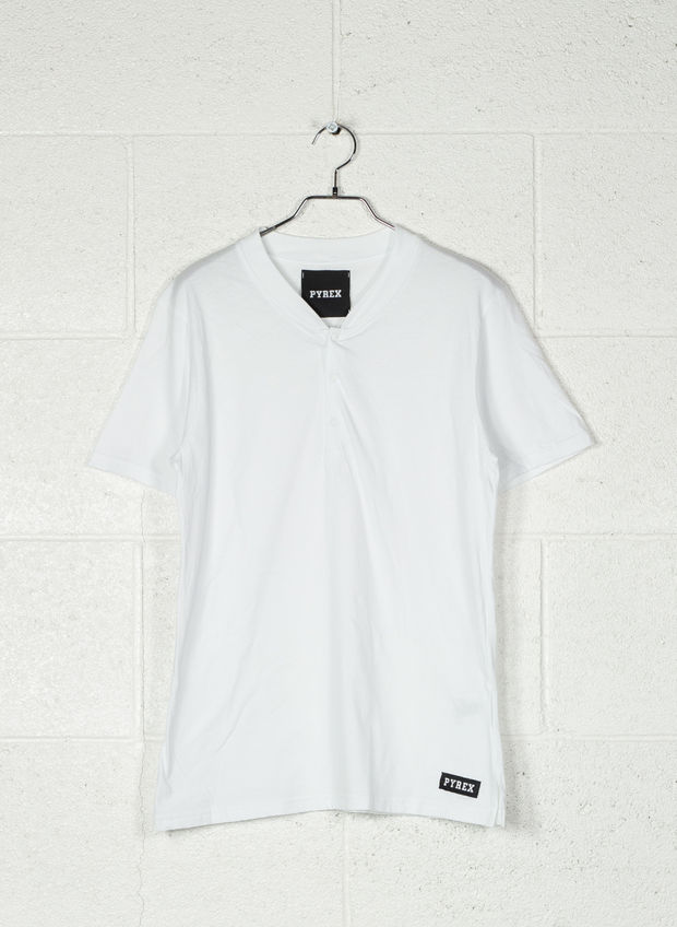 T-SHIRT CHESTER, BIANCO, large