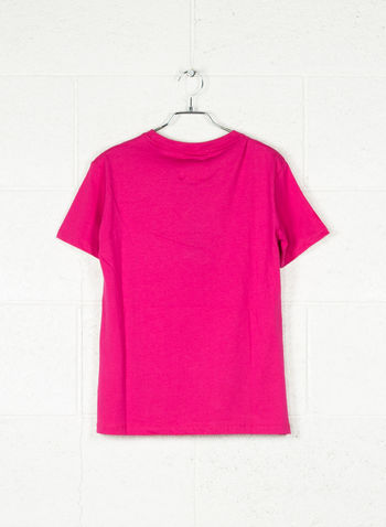 T-SHIRT BIG LOGO, FUXIA, small