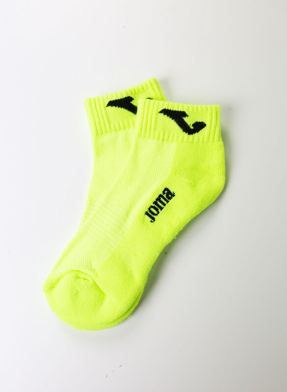 CALZA TOBILLERO PADEL-TENNIS, YELLOW, medium