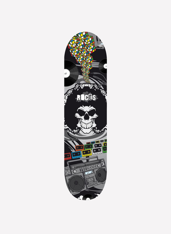 SKATEBOARD 31 SKULL ROCES, NG, medium