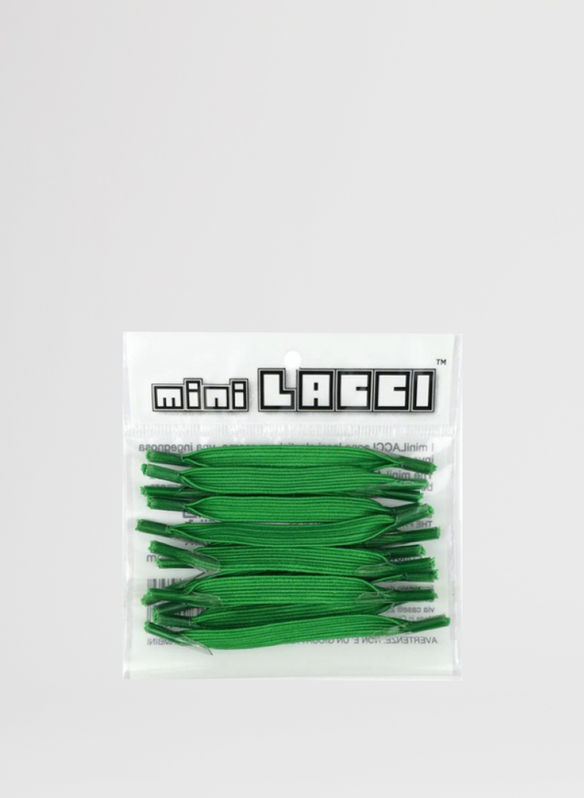 MINI LACCI ELASTICI CONF.12 PZ, VERDE, medium