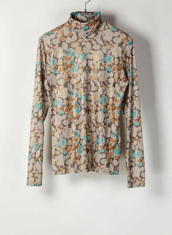 BLUSA COLLO ALTO FANTASIA, INDIAN SUMMER, medium