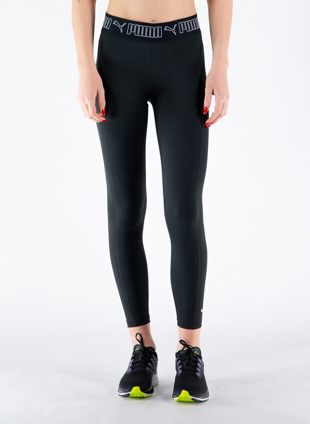 LEGGINGS 7/8 FASCIA LOGO, 01BLK, large