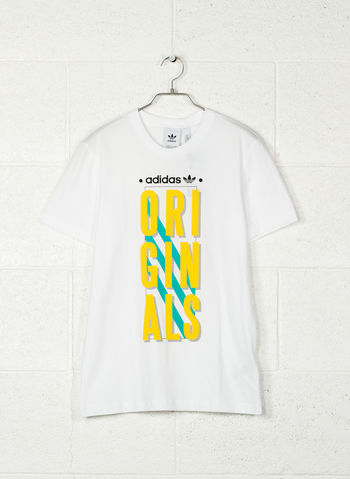T-SHIRT ORIGINALS, WHT, small