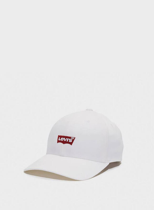 CAPPELLO VISIERA LOGO, 51WHT, medium