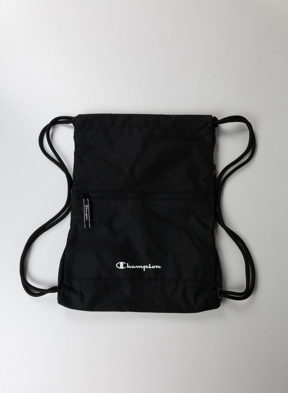 GYM SACK LEGACY ZIP, KK001BLK, medium