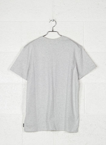 T-SHIRT INVERSED STAMPA, 454GREY, small