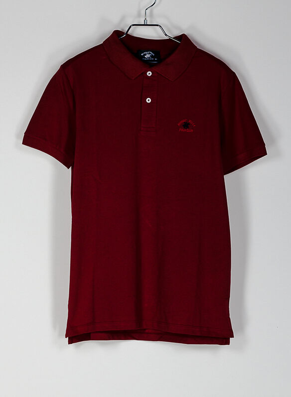POLO PIQUET CLASSIC, RED, medium