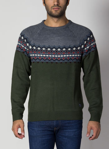 MAGLIONE TIROLESE XMAS, 77220FORESTGREY, small