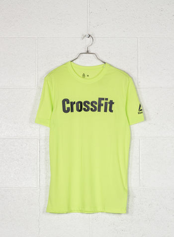 T-SHIRT CROSSFIT SPEEDWICK F.E.F. GRAPHIC, NEON LIME, small