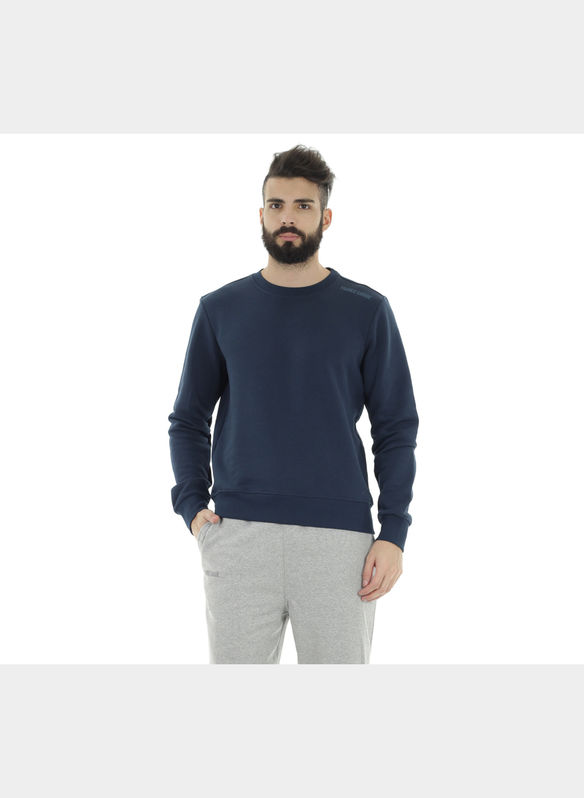 FELPA BASIC , BLU, medium