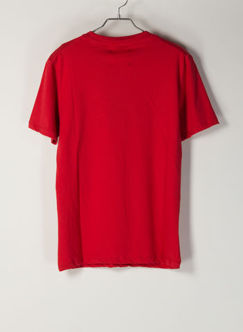 T-SHIRT STAMPA, ROSSO, small