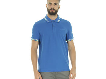 POLO L73 PIQUET BORDINI , PACIFIC BLUE, small