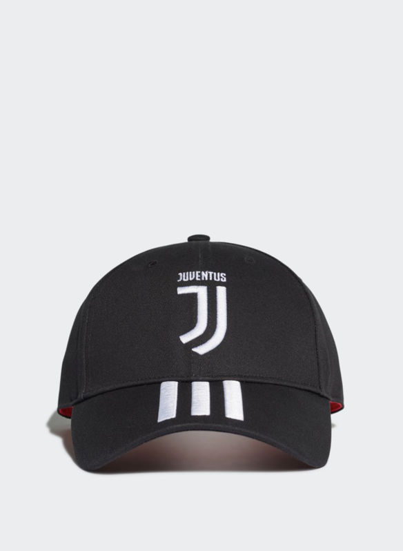 CAPPELLO 3-STRIPES JUVENTUS, BLK, medium
