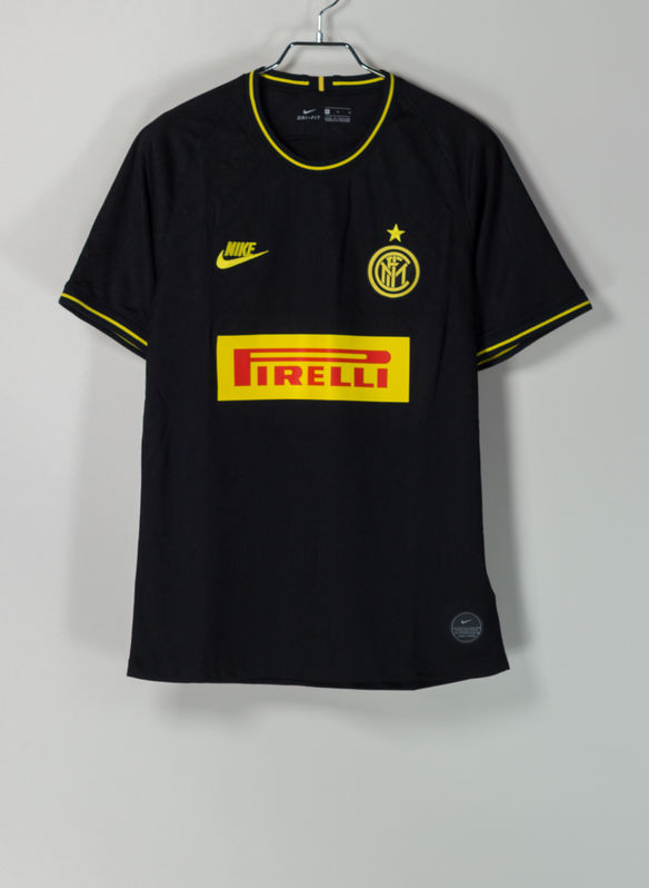 MAGLIA INTER 2019/20 STADIUM THIRD, 011BLKYEL, medium