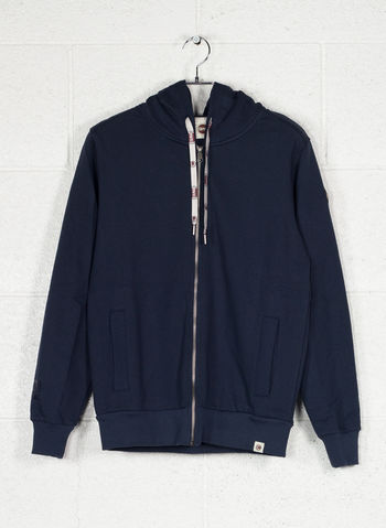 FELPA FULL ZIP, 68NVY, small
