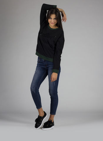 SWEATSHIRT SCOUP, NERO, small