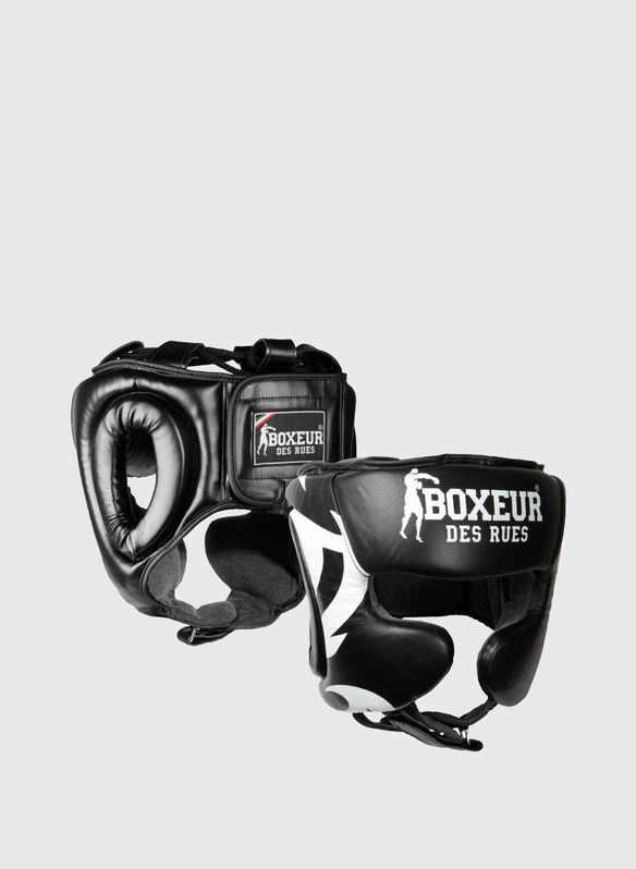 CASCO BOXE TRIBAL, BLKWHT, medium