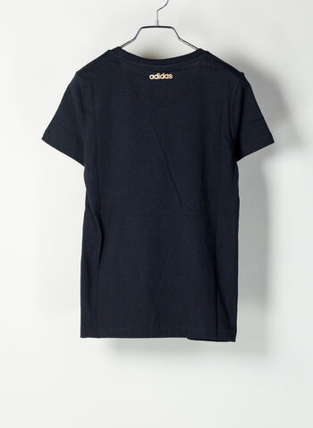 T-SHIRT ESSENTIALS, BLKGOLD, small